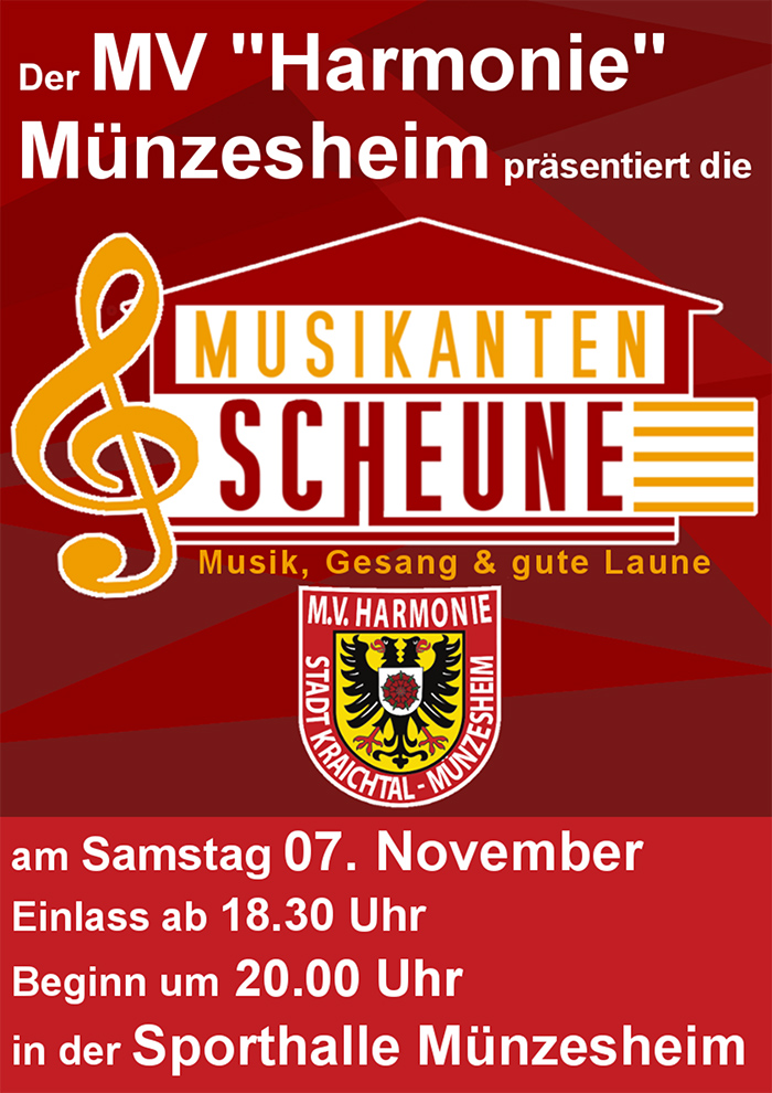 Musikanten-Scheune MV Münzesheim