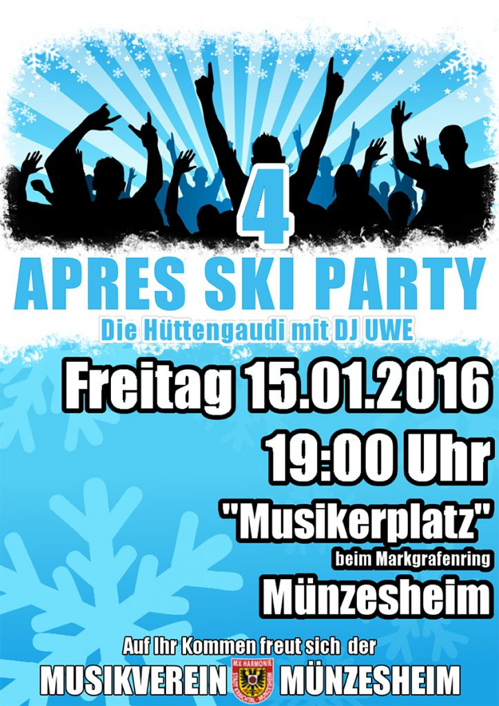 Plakat Apres Ski Party Vol.4