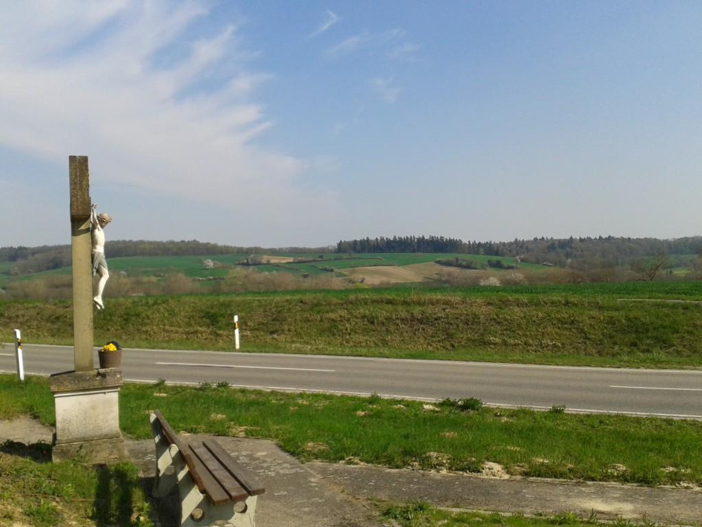 Wegkreuz zwischen Oberöwisheim und Neuenbürg