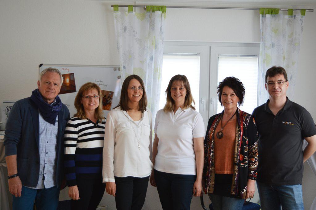 Die Referenten informierten die Besucher über ihre vielseitigen Angebote in Ankes Räumlichkeiten