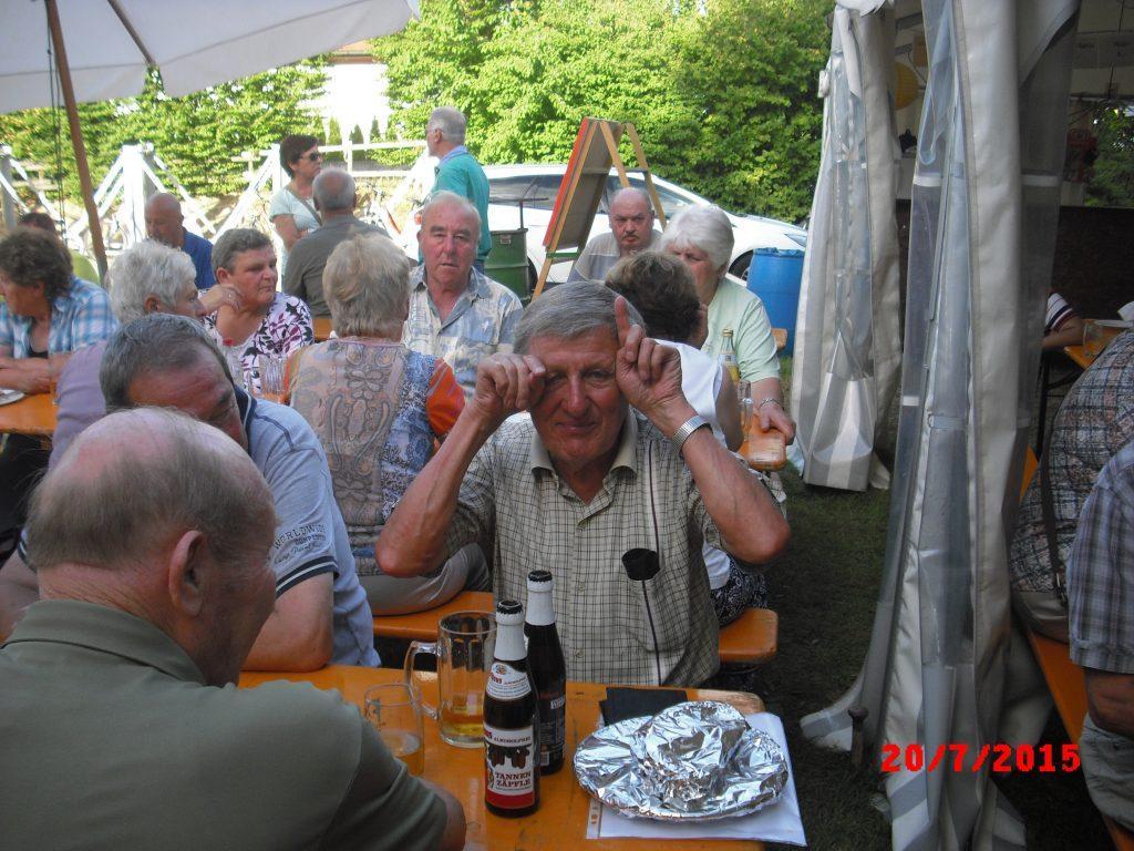 """Vatertag 2015 beim MV """"Harmonie"""" Münzesheim"""