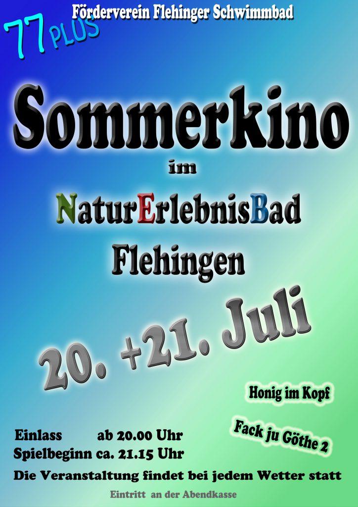 Plakat Sommerkino 2016