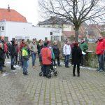 Dorfführung mit anschließendem Wintergrillen des Dorftreffs Oberacker