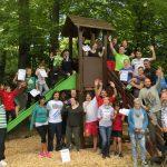 Rückblick: Völkerballspiel des Dorftreffs Oberacker am 20. Mai 2017