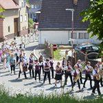 Fronleichnamsprozession in Oberöwisheim: Gottes Gegenwart feiern